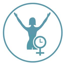 Icon Das 21 Tage Programm zum Glücklich sein | Meine Wechseljahre | Hildegard Aman-Habacht