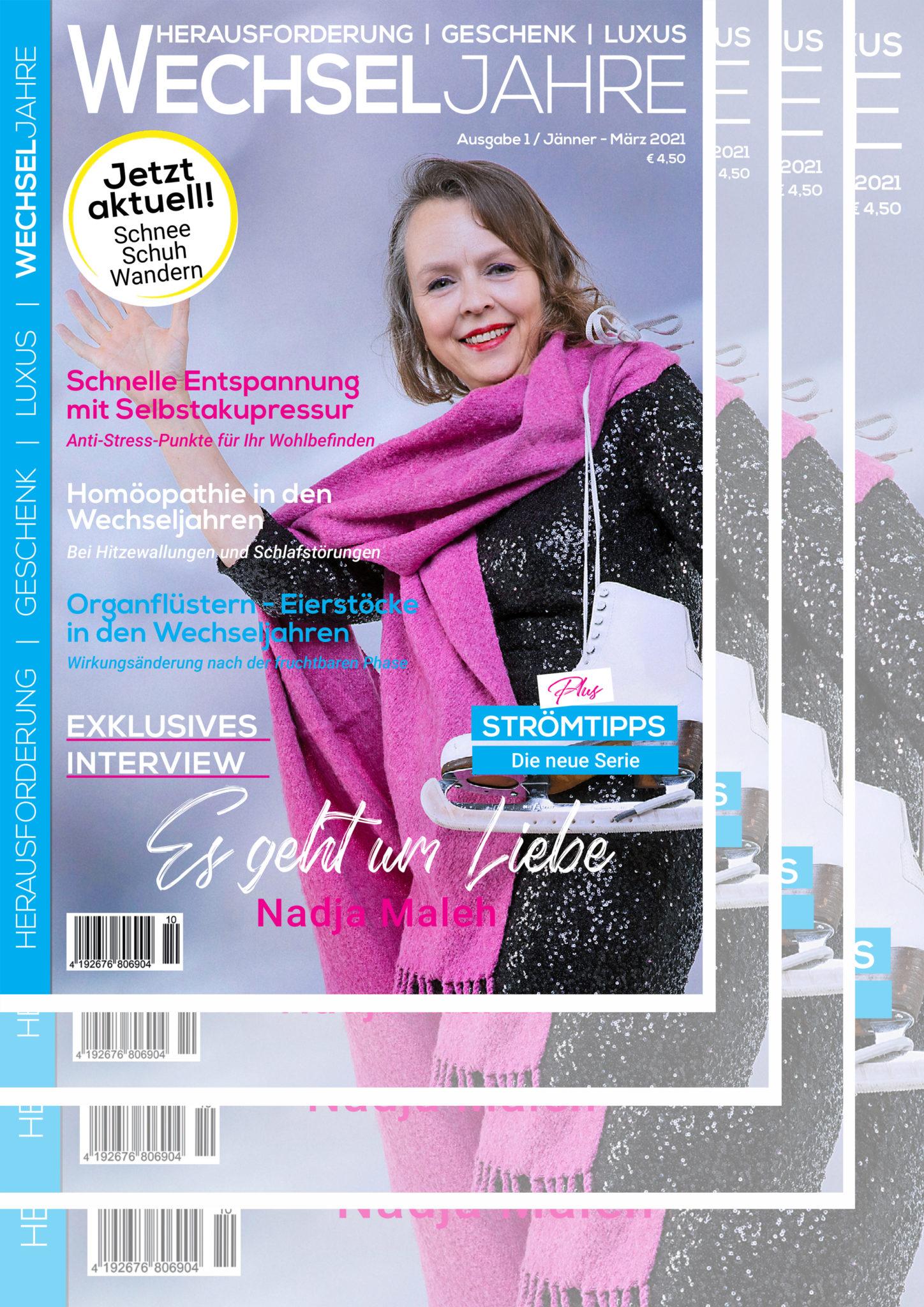 Magazin Wechseljahre | Abo 2020 | Ausgaben 1-4/2021 | Preis 16,- € | Magazin Wechseljahre | meine-wechseljahre.com